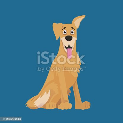 istock Happy Labrador Retriever 1254686343
