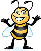 istock Happy Little Bee 160345473