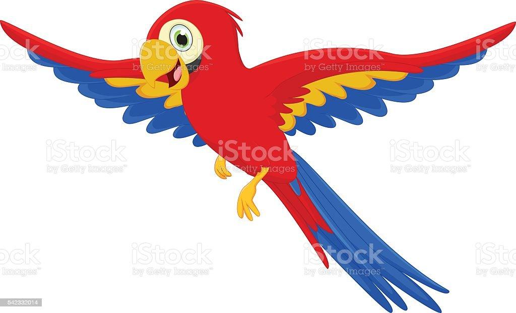 Well-known Feliz Dos Desenhos Animados Arara Bird - Arte vetorial de acervo e  OR13