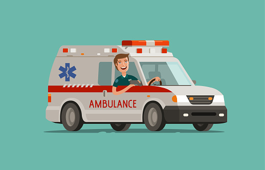 Ambulance stock illustrations