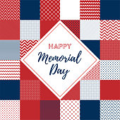 Happy Memorial Day Web and Social Media Banner