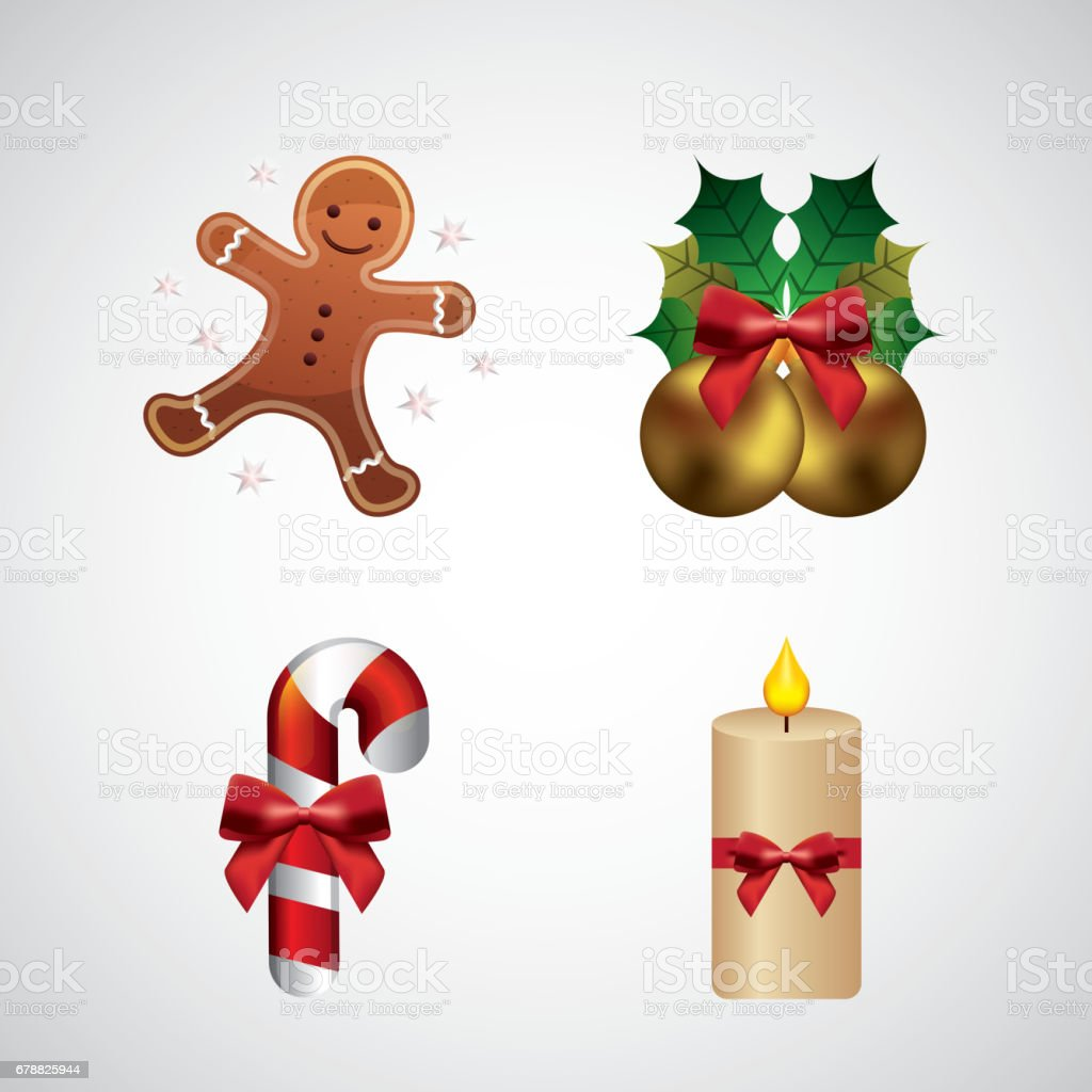 heureux icône décoratifs de joyeux Noël heureux icône décoratifs de joyeux noël – cliparts vectoriels et plus d'images de banderole libre de droits