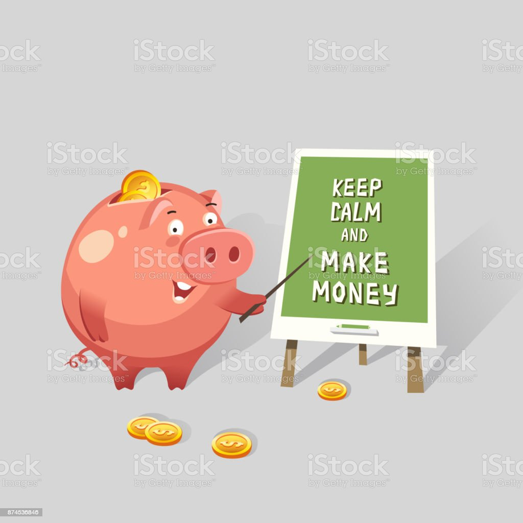 Seasonal business. Piggy bank business ideas