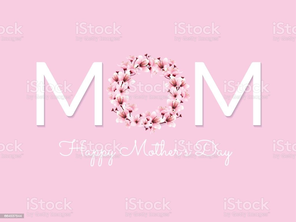 MOM happy mother day royalty-free mom happy mother day stock vector art & more images of abstract