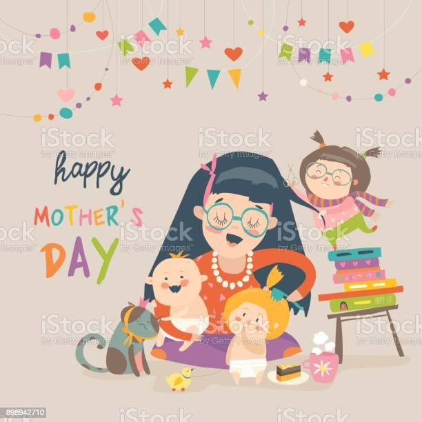 Happy mother with her children vector id898942710?b=1&k=6&m=898942710&s=612x612&h=up2emmgcnrxjpcvgxxf0tastb8 iesqnvqltxayeqbm=