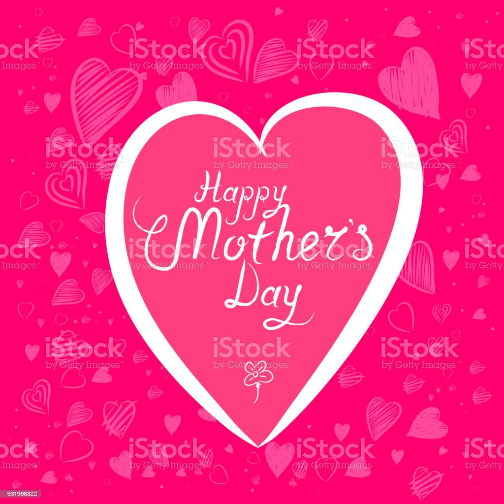 Happy Mothers Day Background Royalty Free Stock Vector Art Amp