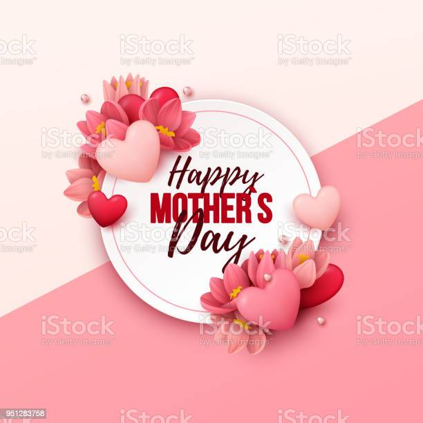 Happy mothers day background with flowers and hearts vector id951283758?b=1&k=6&m=951283758&s=612x612&h=ziet1z9 1v csegg0w4f7oyma1qmhw 4 yxc0snwz8o=