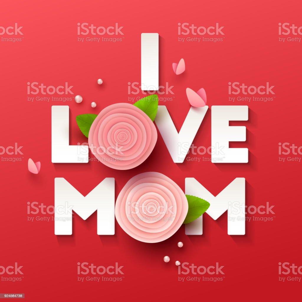 ilustración de fondo feliz dia de las madres flores y más banco de
