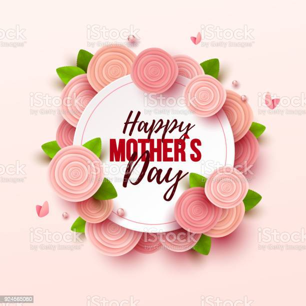 Happy mothers day background with flowers vector id924565080?b=1&k=6&m=924565080&s=612x612&h=xew0juqxequ9mt4yejayz69lhna k7bxbha8i1l7hja=