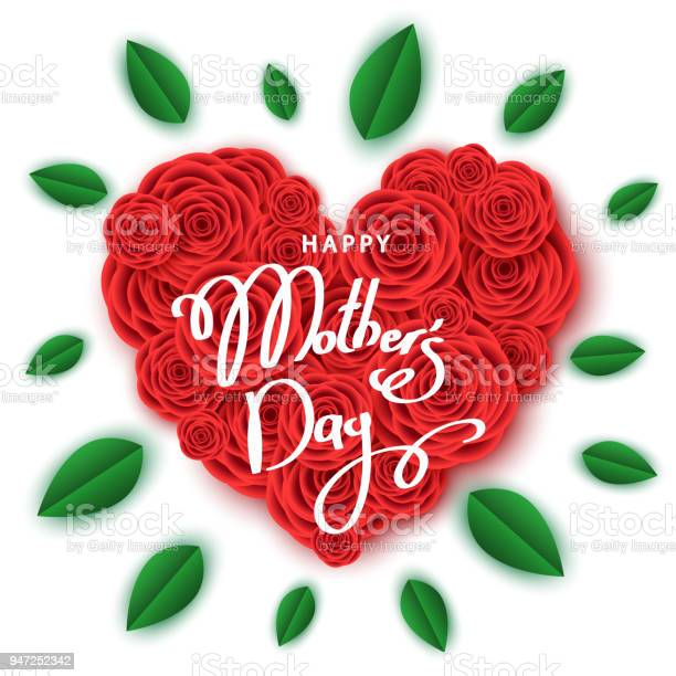 Happy mothers day banner template with heart of red roses vector id947252342?b=1&k=6&m=947252342&s=612x612&h=ojjr4zk4 7jwt rlwfymiuoo1 5va8ogzroy8hyzhpc=