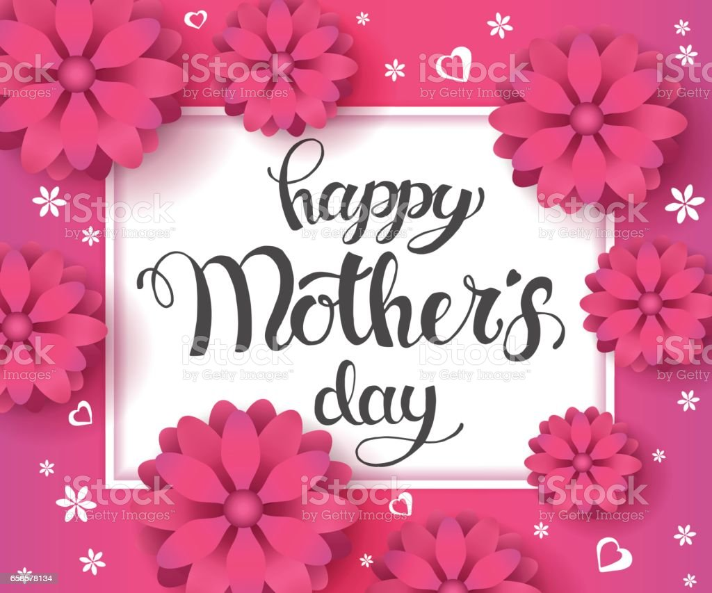 Happy mothers day calligraphy background moms day greeting poster happy mothers day calligraphy background moms day greeting poster design purple background with text kristyandbryce Image collections