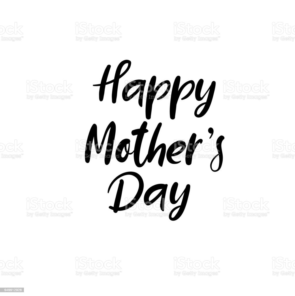 happy mothers day calligraphy greeting card handwritten inscription Happy Tuesday Greetings happy mother s day calligraphy greeting card handwritten inscription illustration