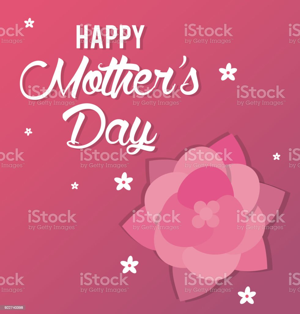 happy mothers day card greeting party stock vector art more images