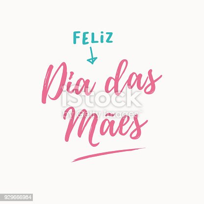 istock Happy mothers day card. 929666984