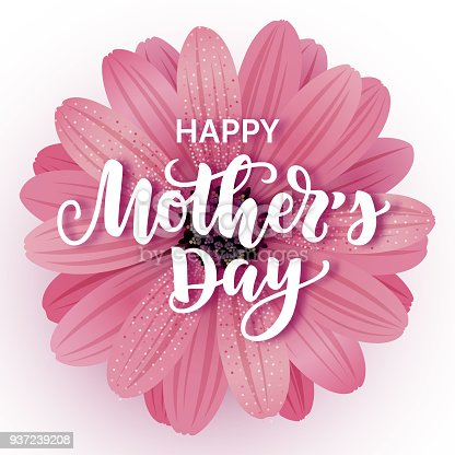 istock Happy Mothers day card 937239208