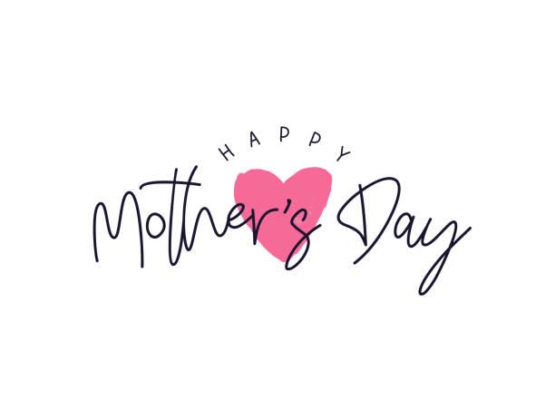 ilustraciones, imágenes clip art, dibujos animados e iconos de stock de tarjeta de feliz día de la madre - día de la madre