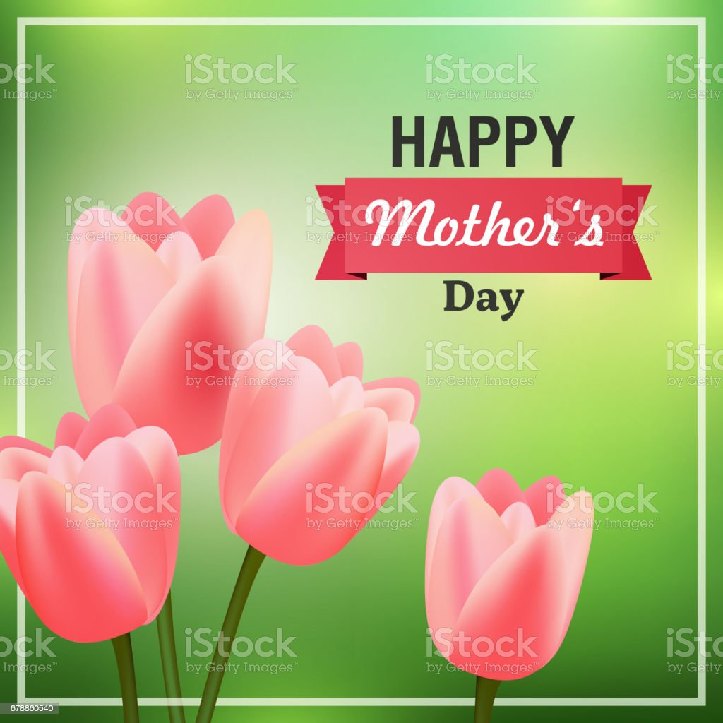 Happy Mothers Day Greeting Card Design happy mothers day greeting card design – cliparts vectoriels et plus d'images de abstrait libre de droits