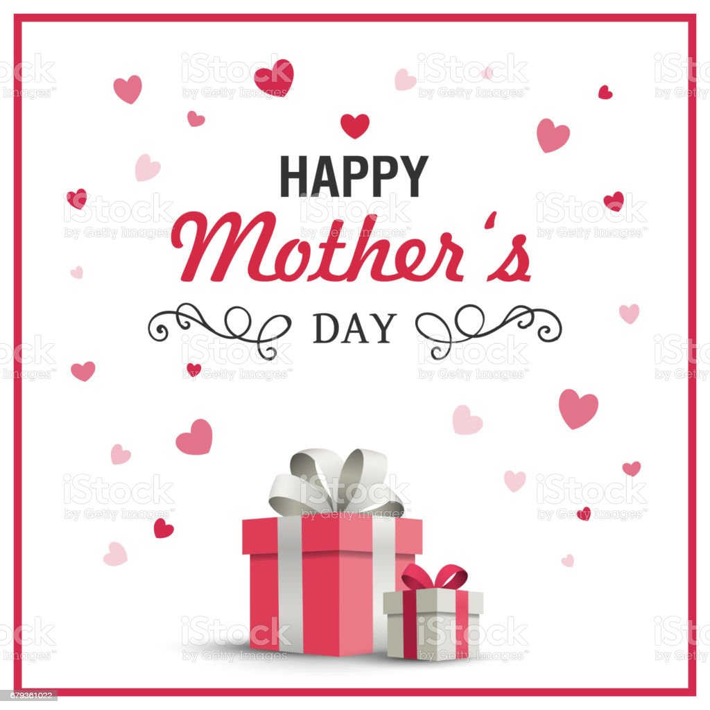 Happy Mothers Day Greeting Card Design royalty-free happy mothers day greeting card design stock vector art & more images of abstract