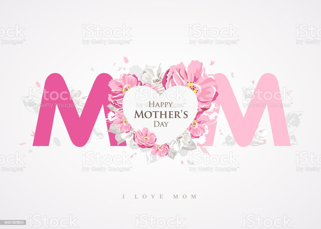 Happy mothers day message mom background greetings card stock vector happy mothers day message mom background greetings card royalty free happy mothers day message mom m4hsunfo