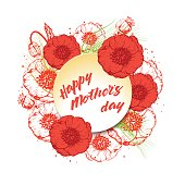Happy Mother`s Day poster