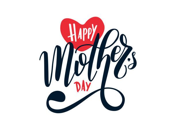 ilustraciones, imágenes clip art, dibujos animados e iconos de stock de signo de día de la madre feliz - día de la madre