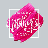 Happy Mother Day spring holiday vector background. Abstract elegant background. Vector illustration