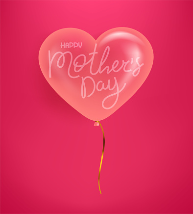 Happy Mothers day vector banner