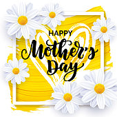 istock Happy Mother's day vector card design 1135784477