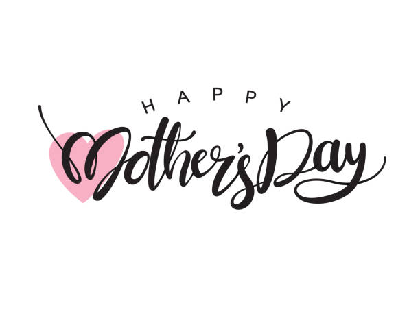 happy mother's day - mothers day stock illustrations