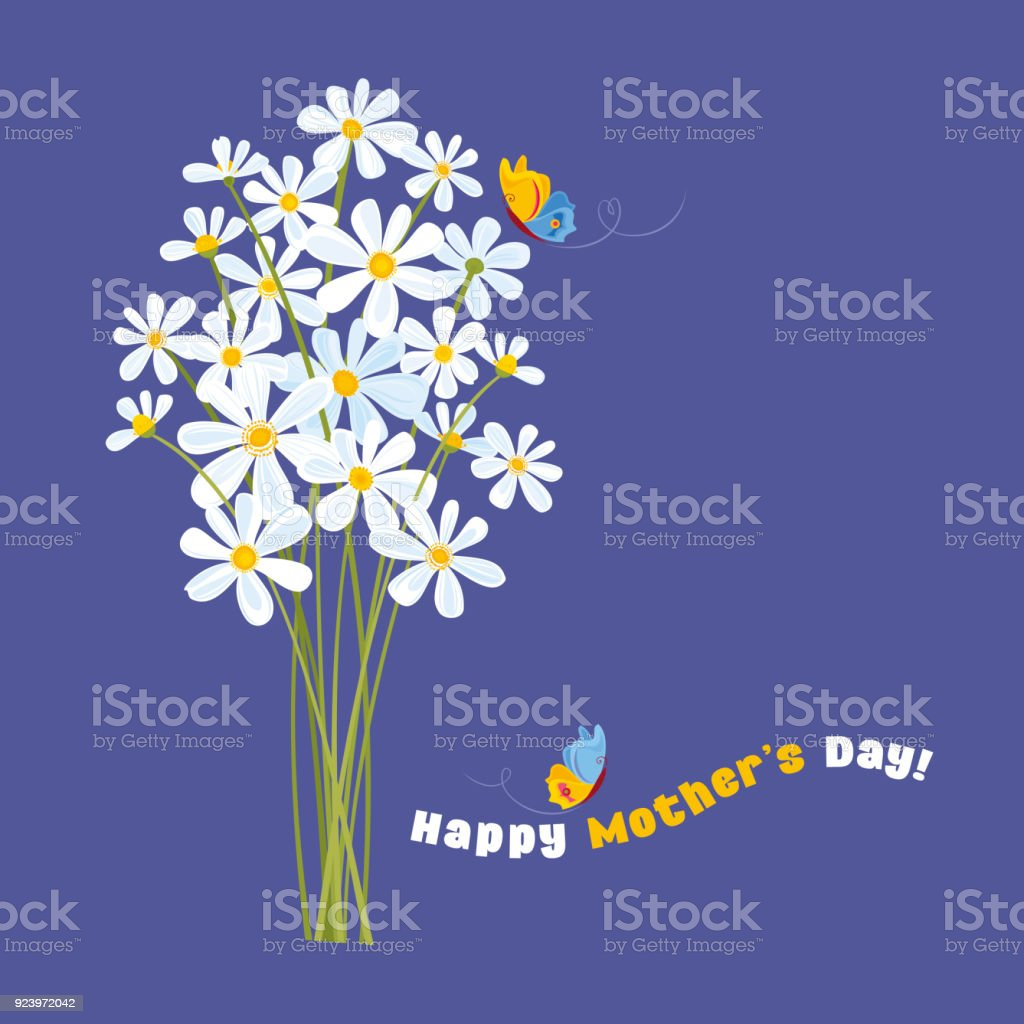 Happy Mother's Day! - Royalty-free Backgrounds stock vector