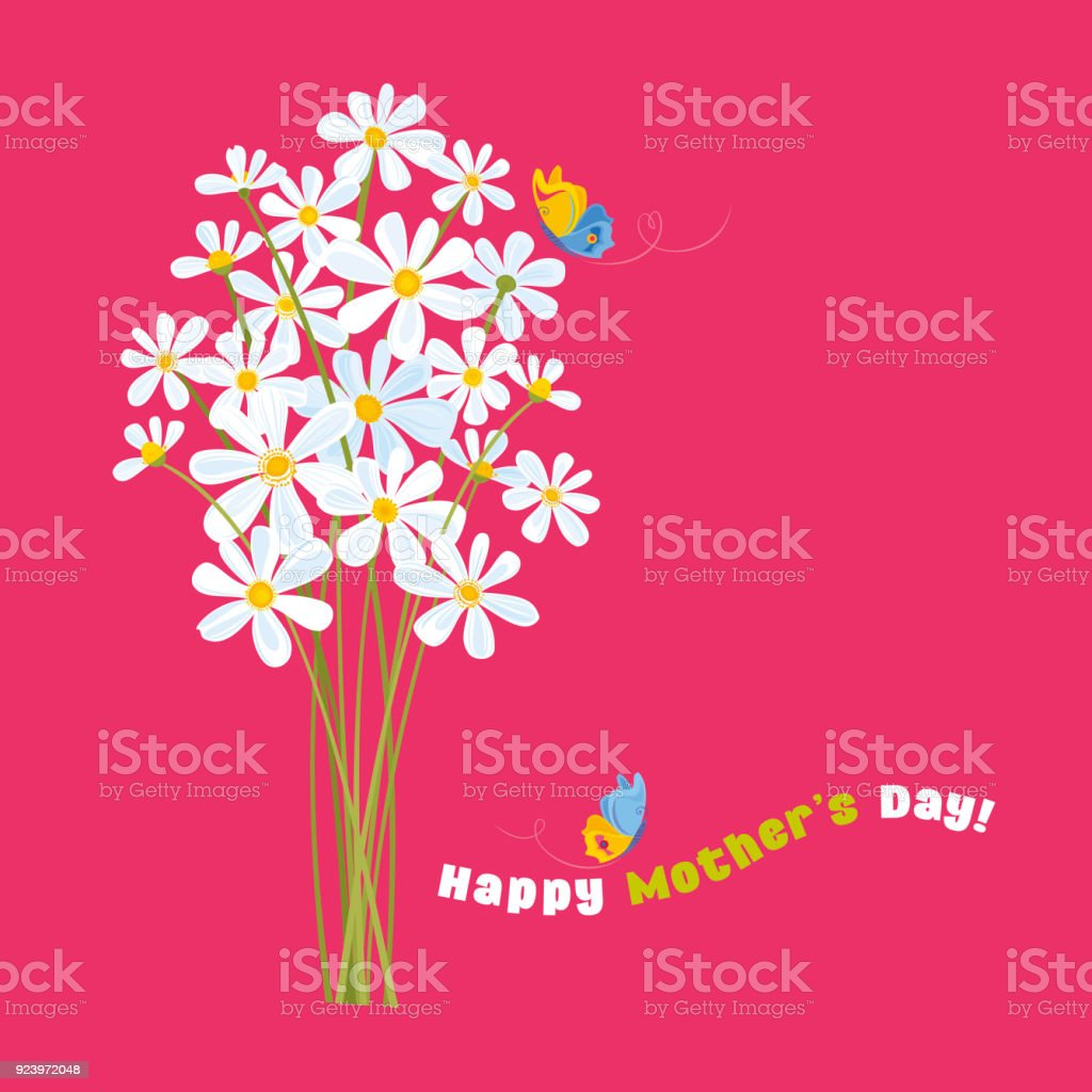 Happy Mother's Day! vector art illustration