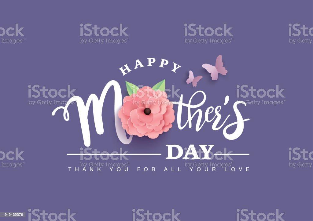 Happy Muttertag – Vektorgrafik