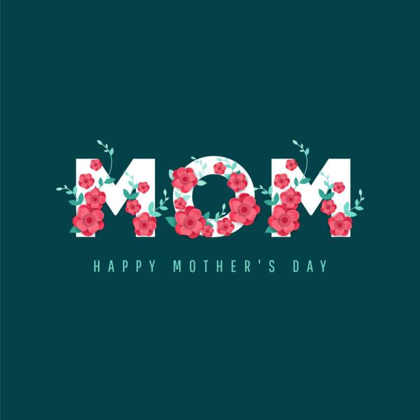 ilustraciones, imágenes clip art, dibujos animados e iconos de stock de feliz día de la madre. - día de la madre