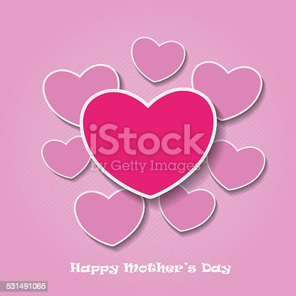 istock Happy Mothersday Oldpink Heartpapers 531491065