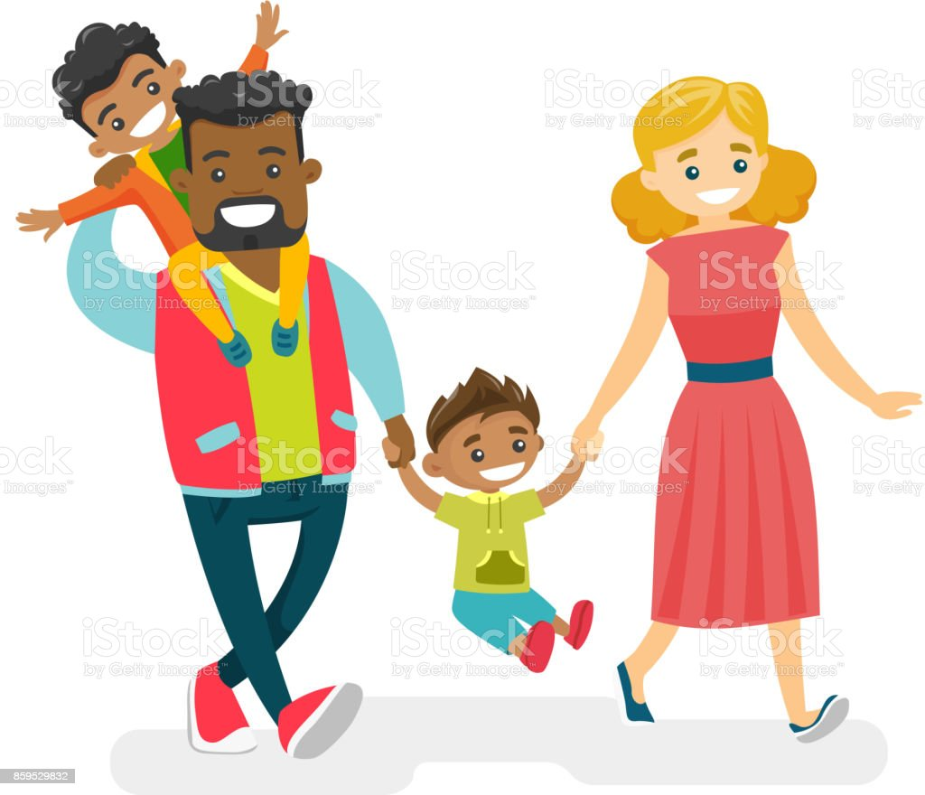 royalty free young family clip art vector images illustrations rh istockphoto com clipart of family reunions clipart of family and friends day