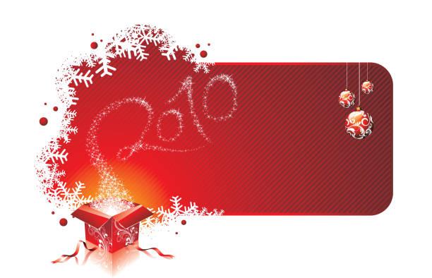 bildbanksillustrationer, clip art samt tecknat material och ikoner med happy new year 2010. - 2010
