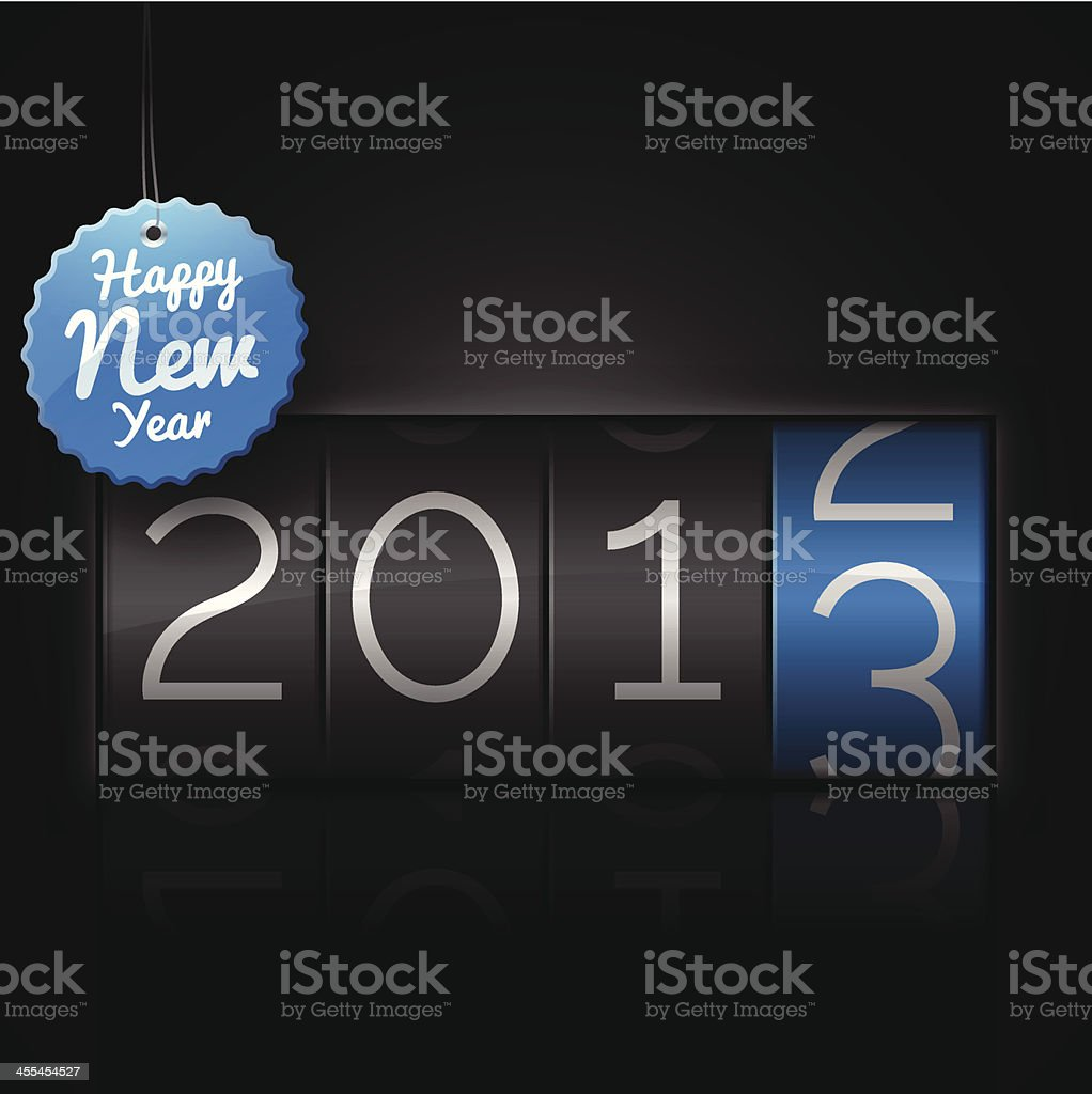 Happy New Year 2013 royalty-free happy new year 2013 stock vector art & more images of 2012