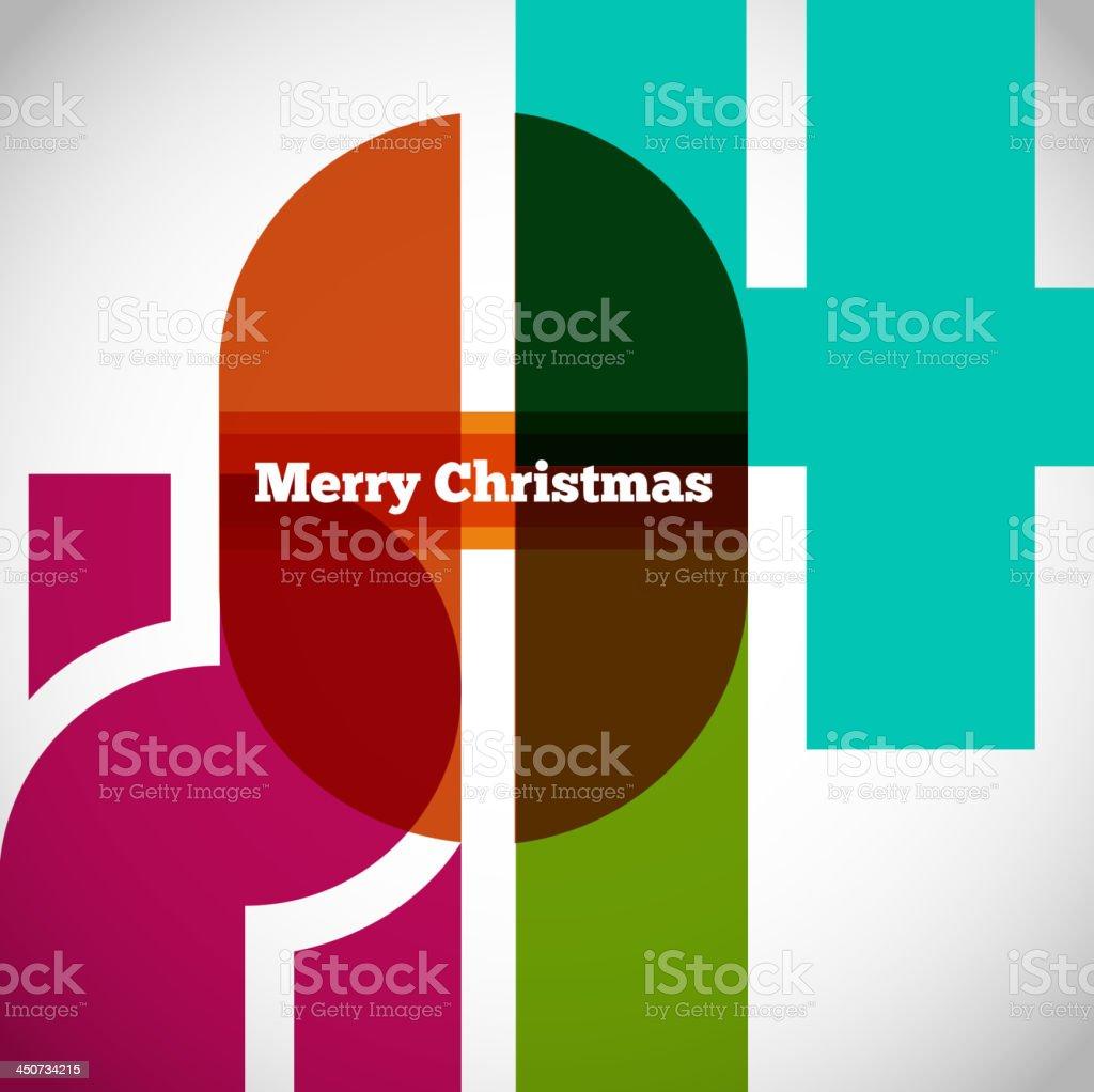 Happy new year 2014 creative design royalty-free stock vector art