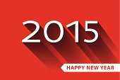 Happy New year 2015 celebration greeting card,banner