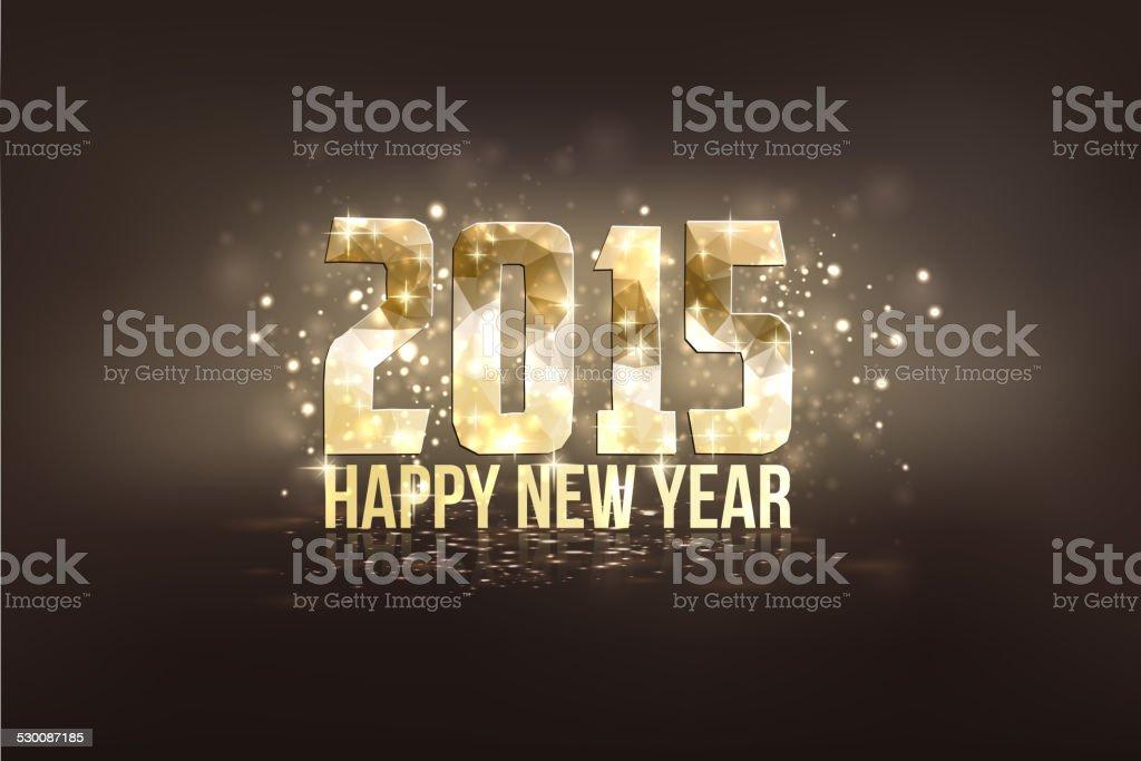 Frohes Neues Jahr 2015 Stock Vektor Art und mehr Bilder von 2015 ...