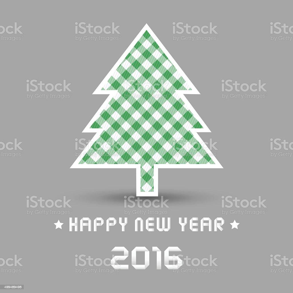 Frohes Neues Jahr 2016 Begrüßung Card4 Stock Vektor Art und mehr ...