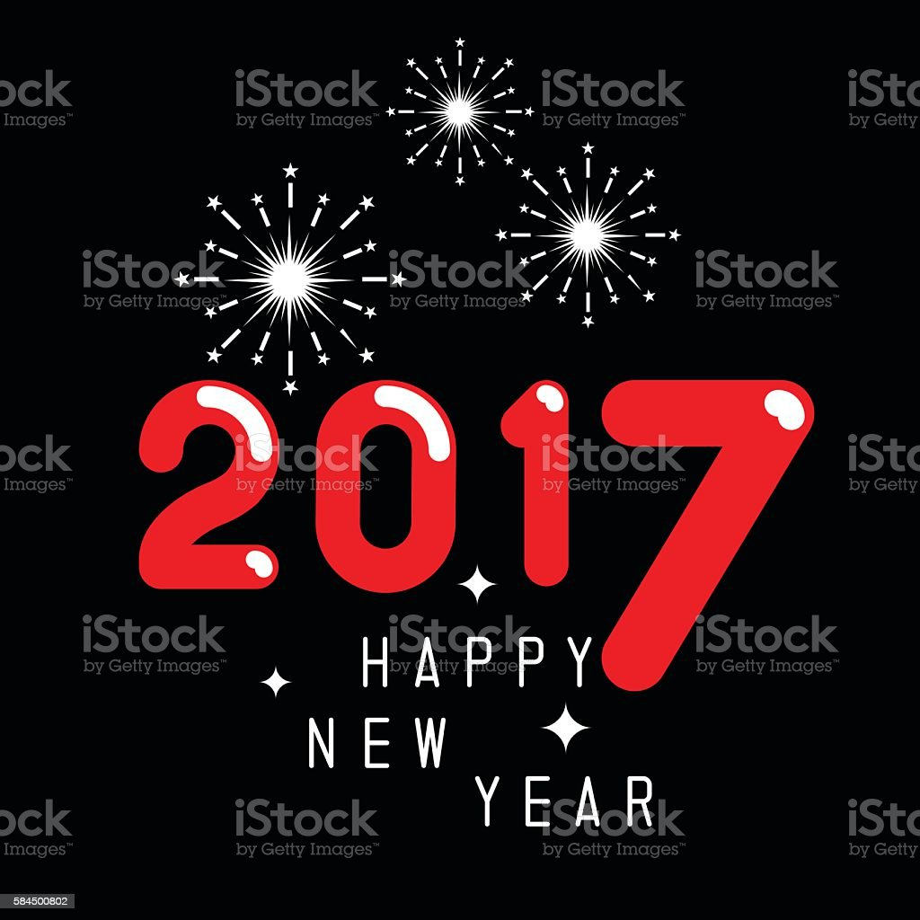 happy new year 2017 theme royalty free happy new year 2017 theme stock vector art