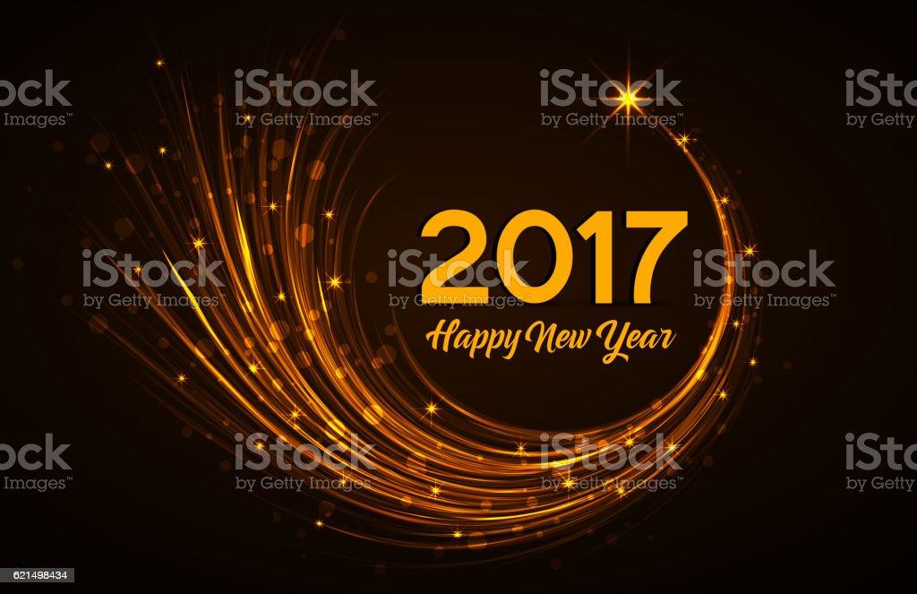 Heureuse nouvelle année 2017 heureuse nouvelle année 2017 – cliparts vectoriels et plus d'images de 2017 libre de droits