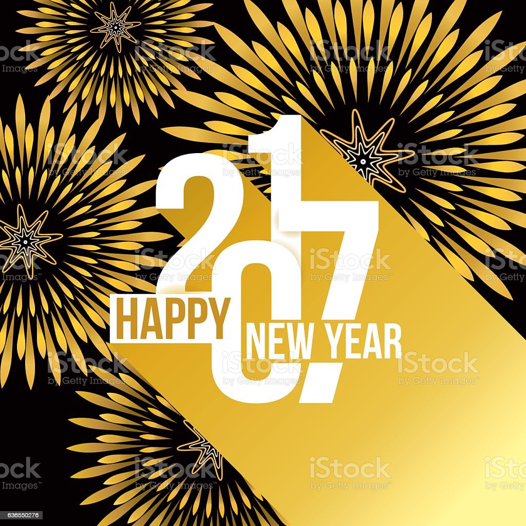 happy new year 2017 royalty free happy new year 2017 stock vector art