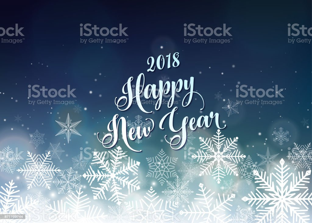 happy new year 2018 banner seasons greetings card royalty free happy new year 2018
