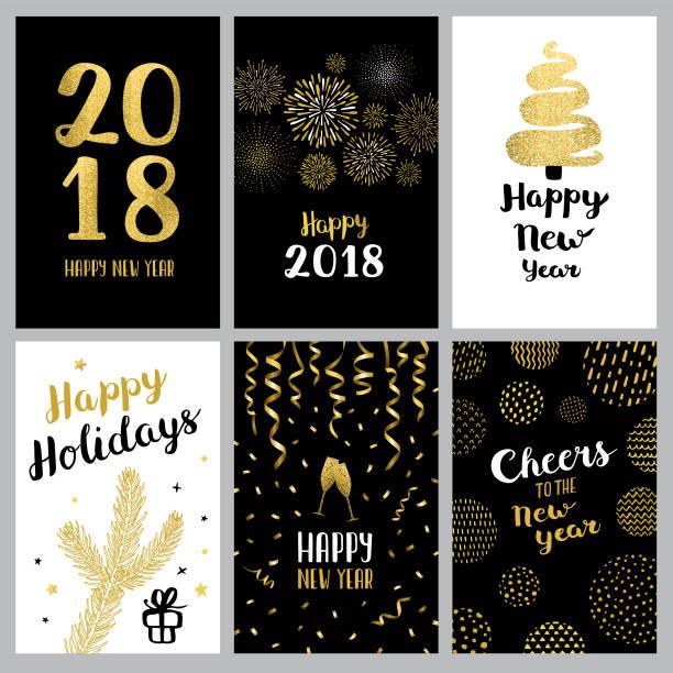 新年あけましておめでとうございます 2018 バナー - 大晦日点のイラスト素材/クリップアート素材/マンガ素材/アイコン素材