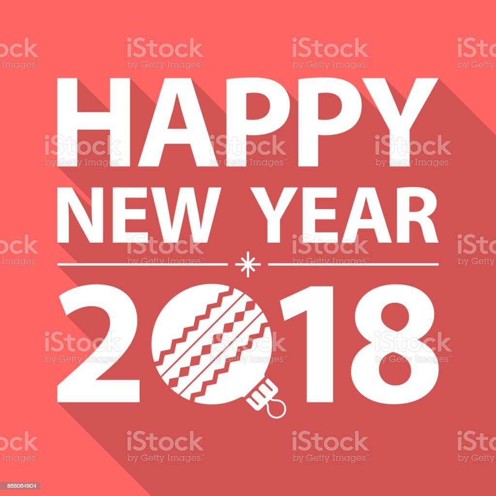 Happy New Year Flat Design 66