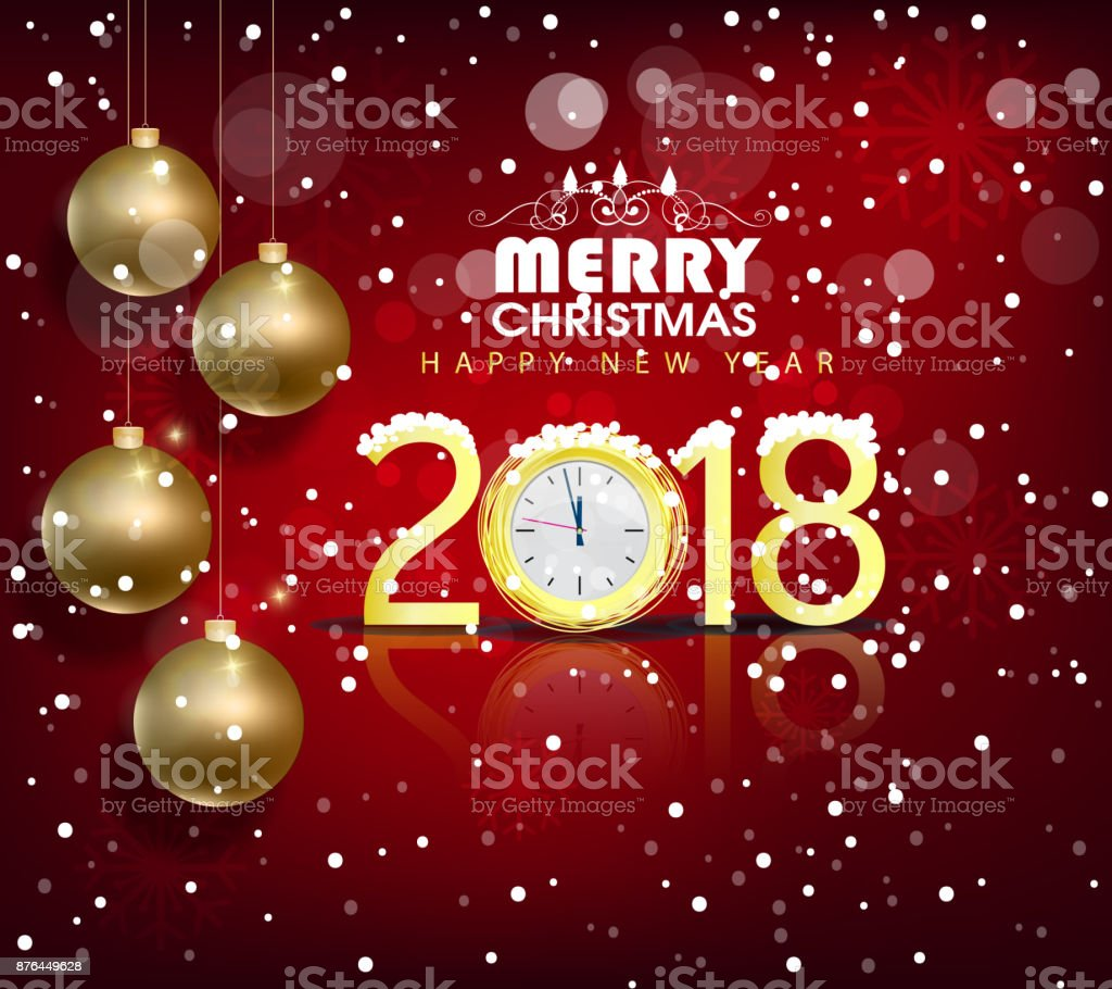 happy new year 2018 greeting card and merry christmas chinese new year of the dog - Merry Christmas In Chinese