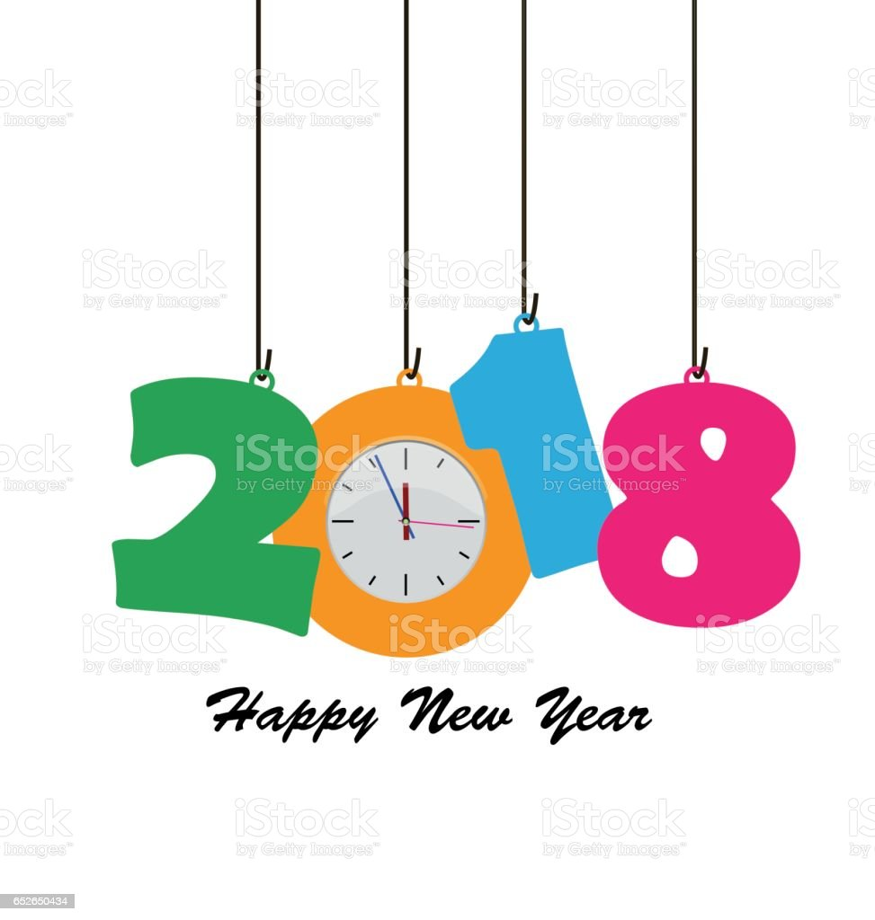 Happy New Year 2018 Royalty Free Happy New Year 2018 Stock Vector Art U0026amp;