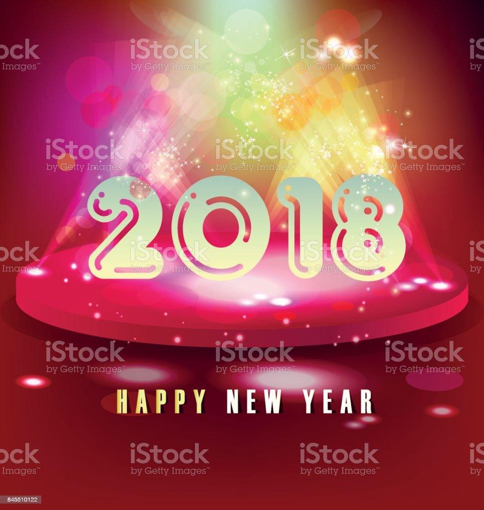 happy new year 2018 royalty free happy new year 2018 stock vector art